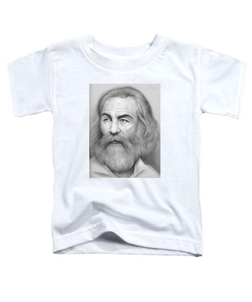 Walt Whitman Toddler T-Shirt
