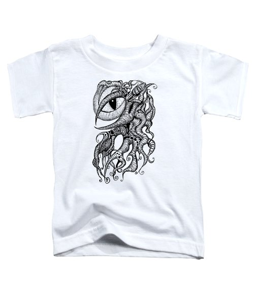 Watching Eye Creature With Tentacles Toddler T-Shirt