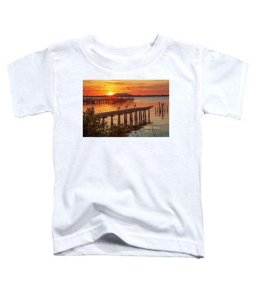Watching The Sunset Toddler T-Shirt