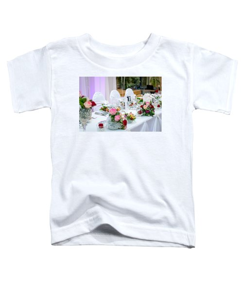Wedding Table Toddler T-Shirt