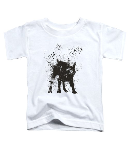 Wet Dog Toddler T-Shirt