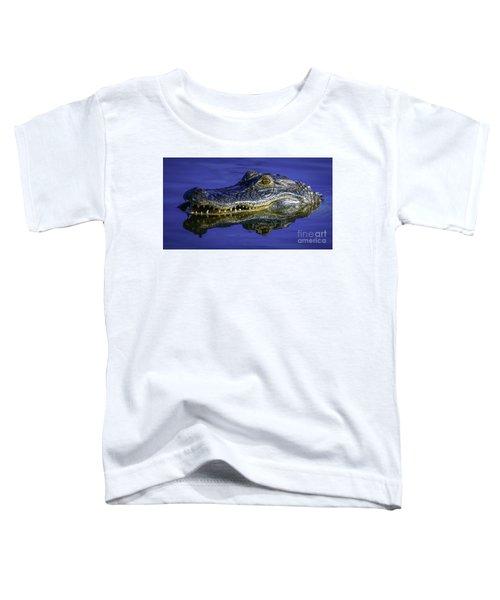 Wetlands Gator Close-up Toddler T-Shirt