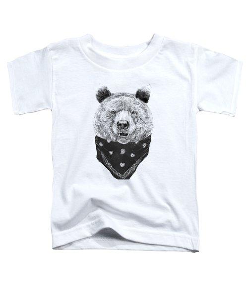 Wild Bear Toddler T-Shirt