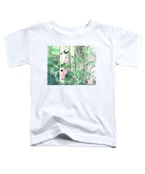Wild Rose Toddler T-Shirt