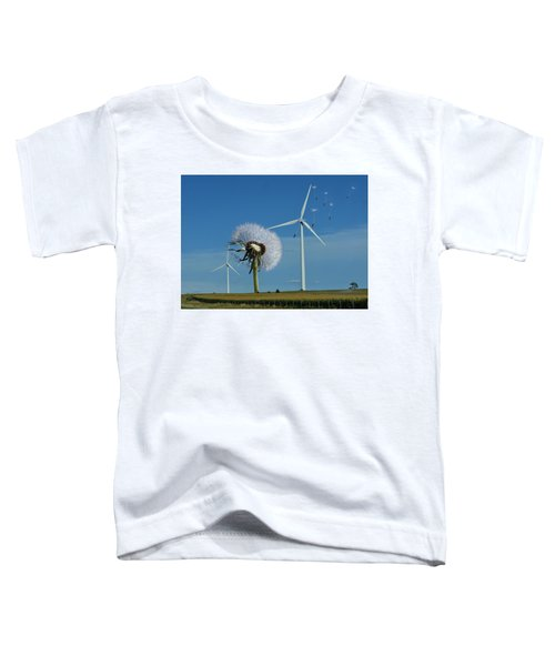 Wind Power Toddler T-Shirt