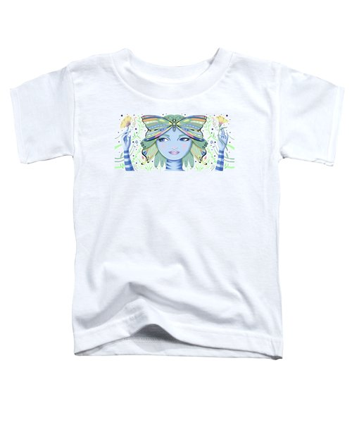 Insect Girl, Winga - White Toddler T-Shirt