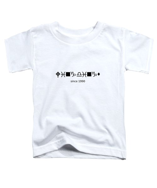 Wingdings Since 1990 - Black Toddler T-Shirt