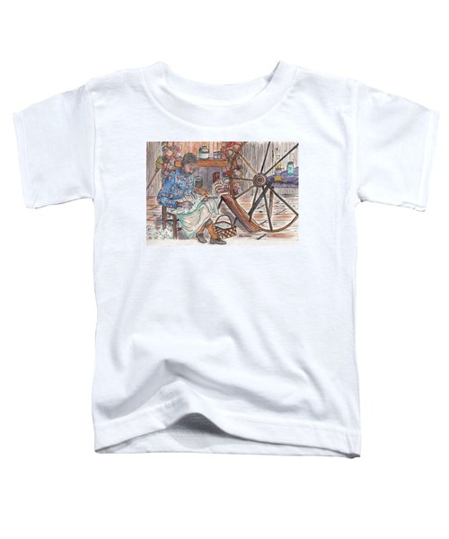 Working Cotton The Old Fashioned Way Toddler T-Shirt