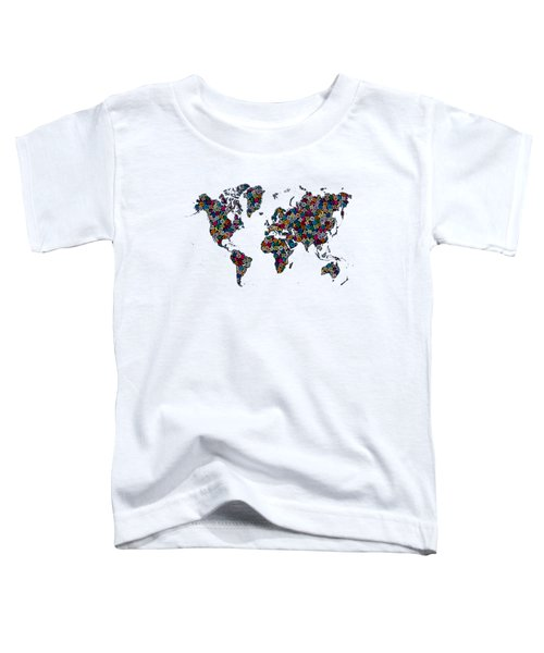 World Map-1 Toddler T-Shirt
