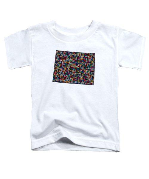 Wyoming Map - 1 Toddler T-Shirt