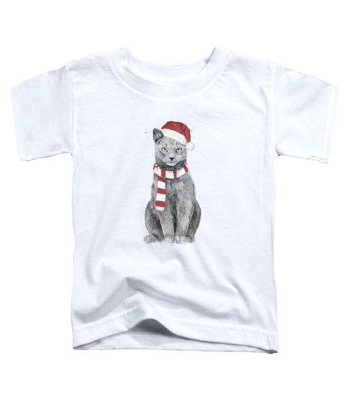 Xmas Cat Toddler T-Shirt