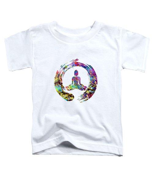 Zen Buddha-colorful Toddler T-Shirt
