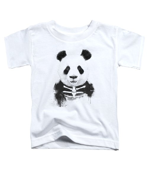 Zombie Panda Toddler T-Shirt