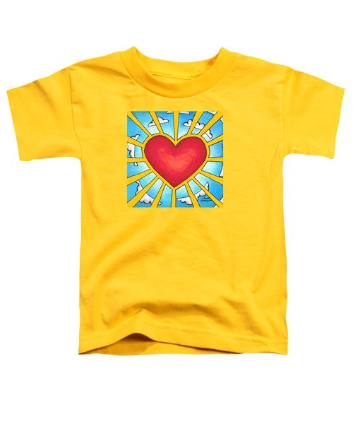 Heart Shine Toddler T-Shirt