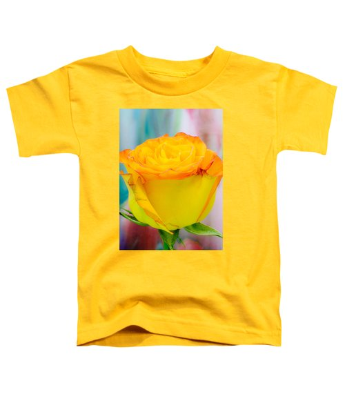 Yellow Rose Macro Toddler T-Shirt