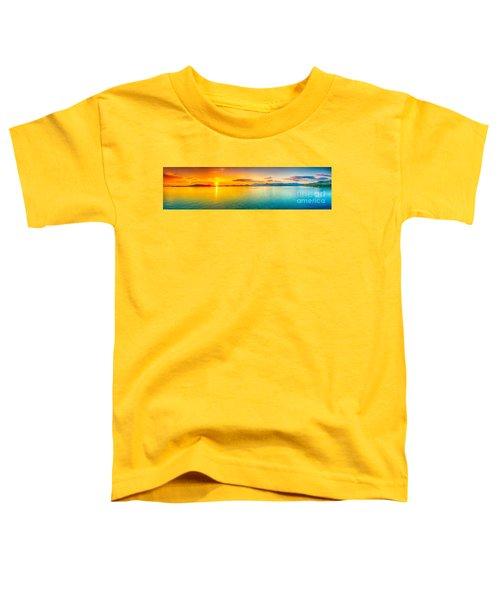 Sunset Panorama Toddler T-Shirt