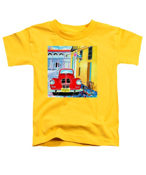 Afternoon In Havana Toddler T-Shirt