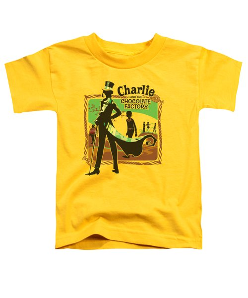 Chocolate Factory - Chocolate River Toddler T-Shirt