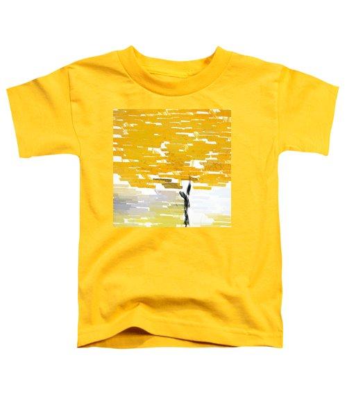 Classy Yellow Tree Toddler T-Shirt