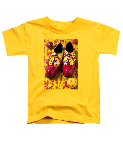 Clown Shoes And Balls Toddler T-Shirt