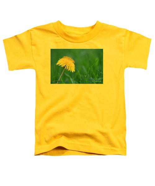 Dandelion Flower Toddler T-Shirt