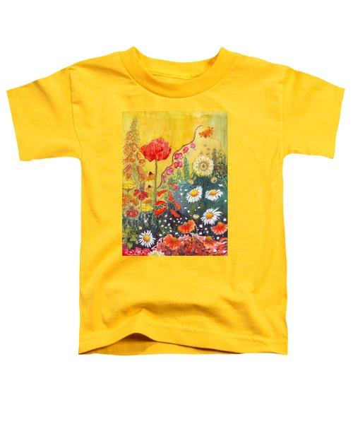 Flower Garden Toddler T-Shirt