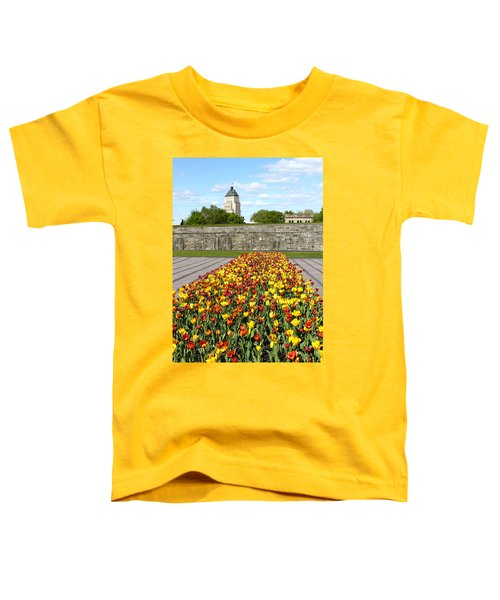 Tulip Garden In Canada 11 Toddler T-Shirt