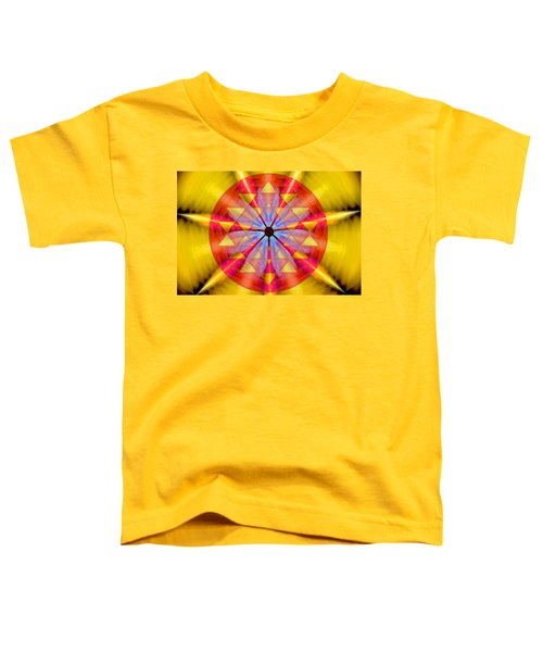 Geo-cosmic Sri Yantra Toddler T-Shirt