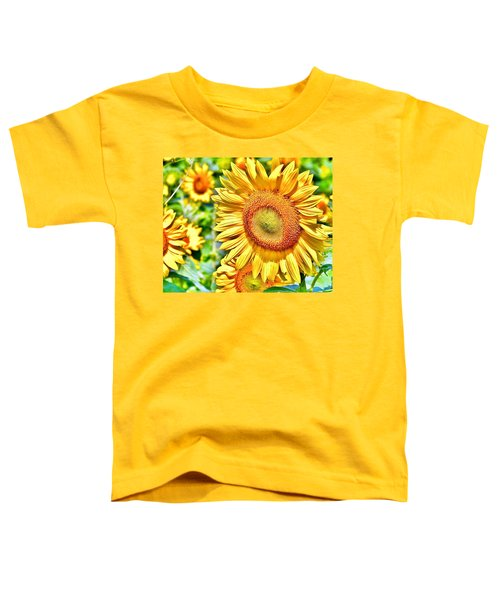 Glorious Sunflowers Toddler T-Shirt