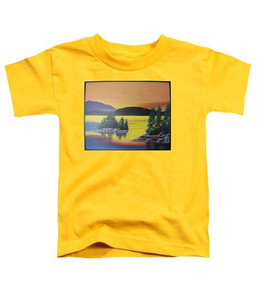 Glorious Sunrise Toddler T-Shirt