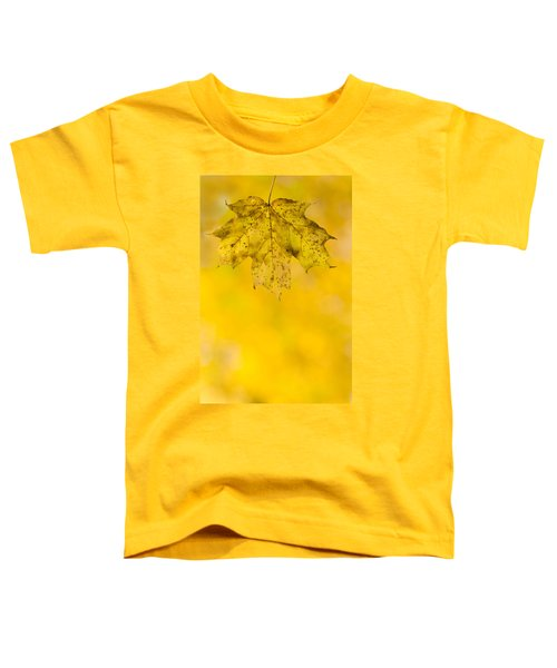 Toddler T-Shirt featuring the photograph Golden Autumn by Sebastian Musial