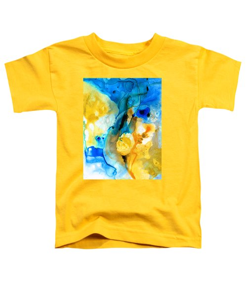 Iced Lemon Drop - Abstract Art By Sharon Cummings Toddler T-Shirt