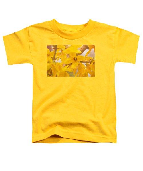 Impressionist Forsythia Toddler T-Shirt