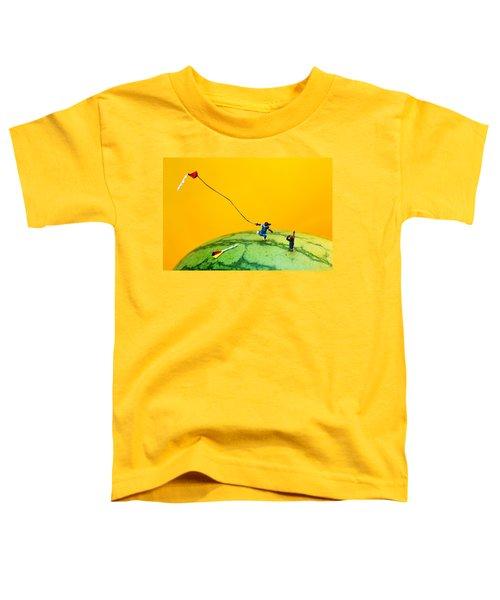 Kite Runner On Watermelon Toddler T-Shirt