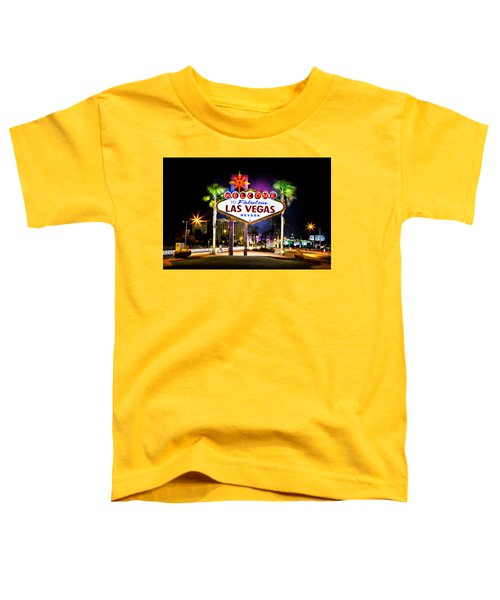 Las Vegas Sign Toddler T-Shirt