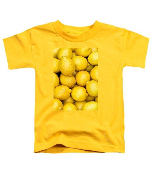 Lemons 02 Toddler T-Shirt