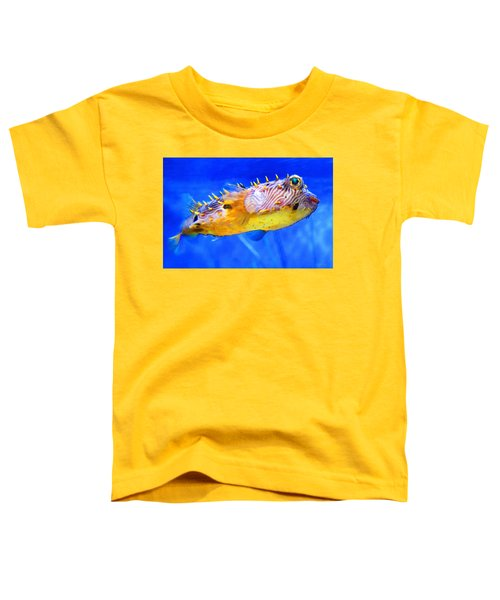 Magic Puffer - Fish Art By Sharon Cummings Toddler T-Shirt