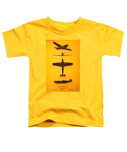 Me 109 Recognition Toddler T-Shirt