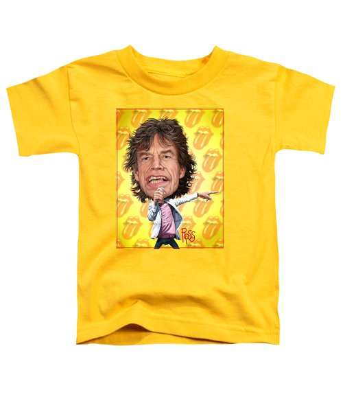 Mick Jagger Toddler T-Shirt