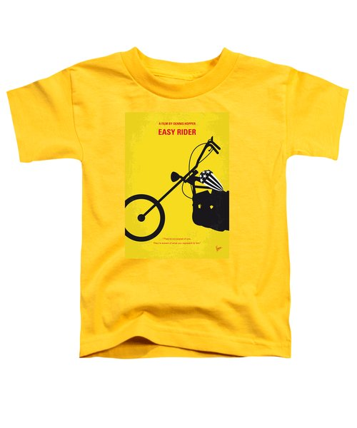 No333 My Easy Rider Minimal Movie Poster Toddler T-Shirt
