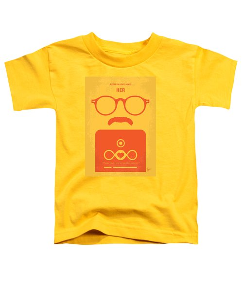 No372 My Her Minimal Movie Poster Toddler T-Shirt
