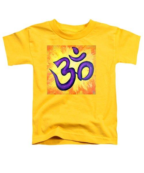 Om Symbol Art Painting Toddler T-Shirt
