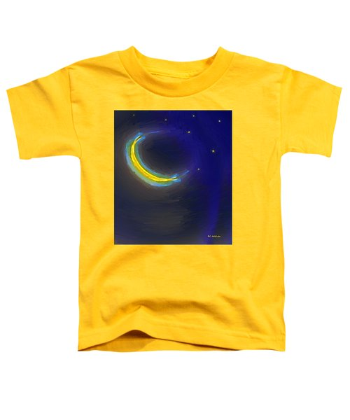 Seven Stars And The Moon Toddler T-Shirt