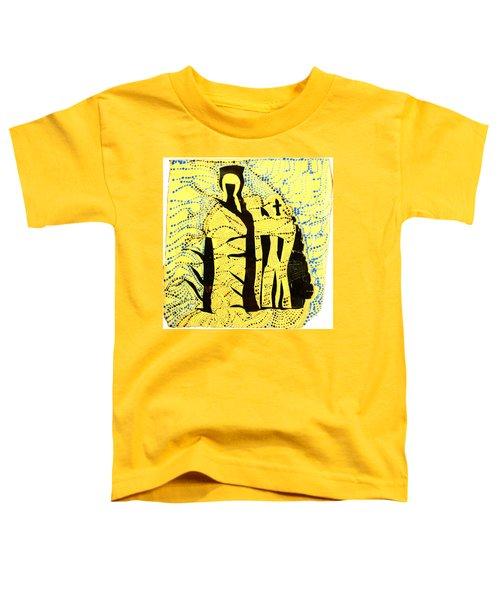 Shroud Of Jesus Toddler T-Shirt