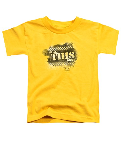 Taxi - Flag This Toddler T-Shirt