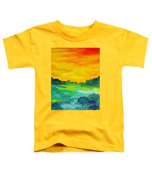 The  Lagoon Toddler T-Shirt