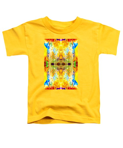 Tony's Tower Abstract Pattern Artwork By Tony Witkowski Toddler T-Shirt