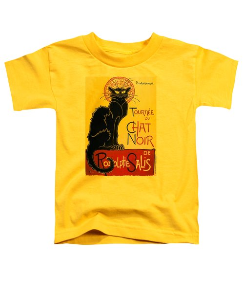 Tournee Du Chat Noir Toddler T-Shirt