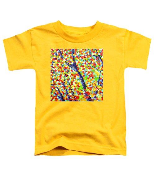 Tree At Fall Toddler T-Shirt