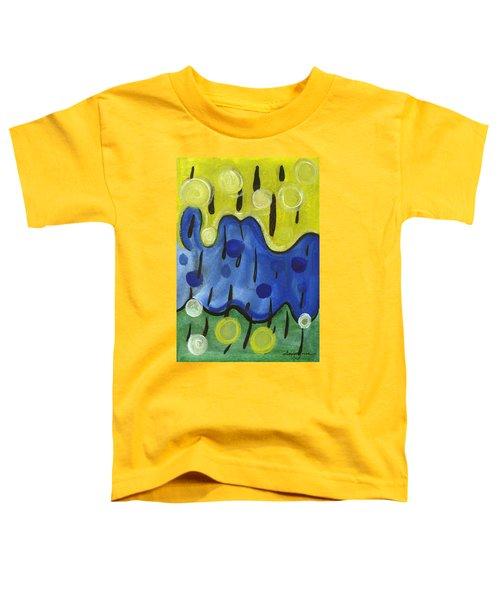 Tropical Rain Toddler T-Shirt